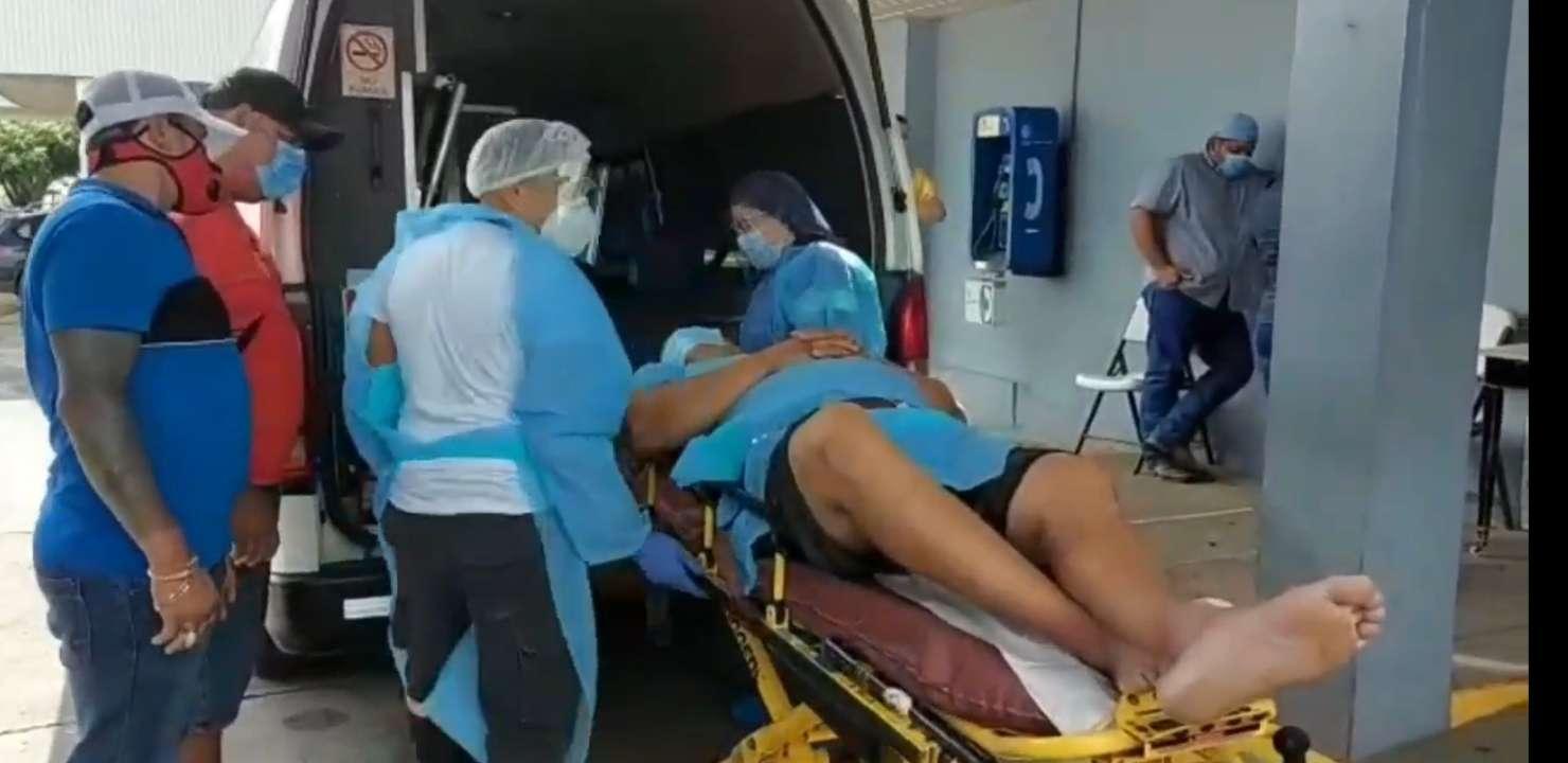Se conoció que la víctima se le descubrió un coágulo en la cabeza y múltiples fracturas.