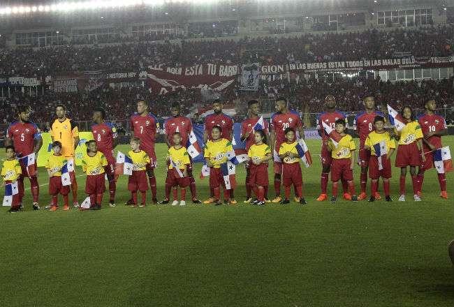La selección de Panamá se ubica en el Grupo G. Foto: Anayansi Gamez
