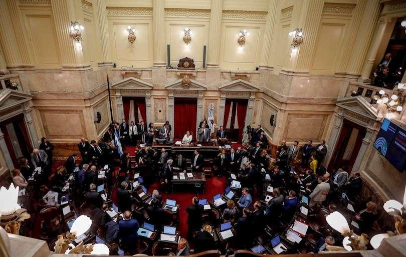 Vista del Senado de Argentina, en una fotografía de archivo. EFE