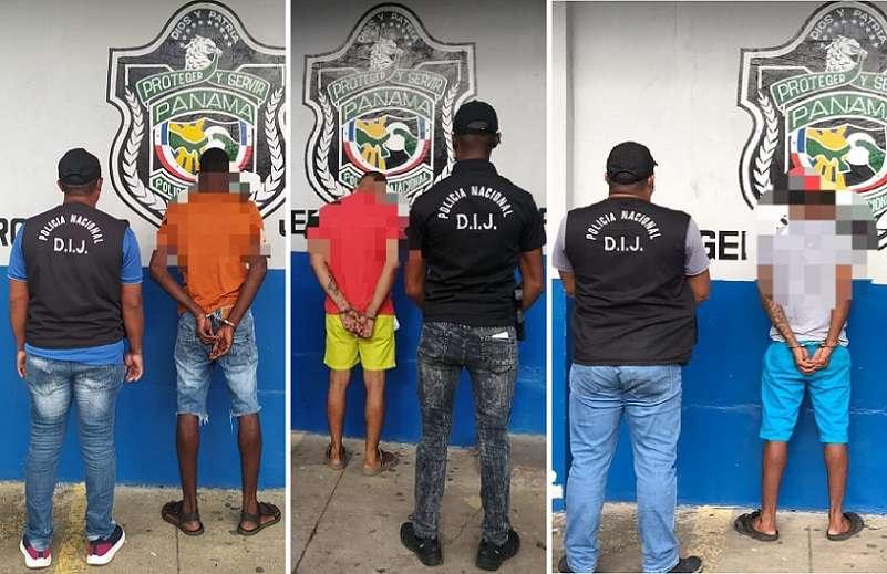 Los ahora imputados fueron aprehendidos ayer, luego de que el Ministerio Público y la Policía Nacional realizaran más de 15 allanamientos realizados en la calle 9 Avenida Central, el campamento de Mindi.