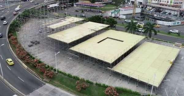 El contrato estipula que la estructura debe ser entregada este 20 de diciembre.
