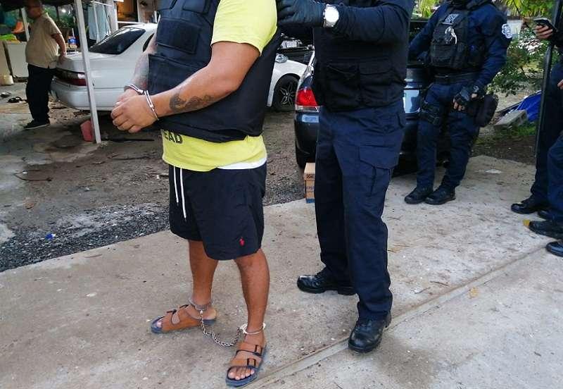 El Ministerio Público también se informó que a uno de los aprehendidos se le imputó cargos por blanqueo de capitales.