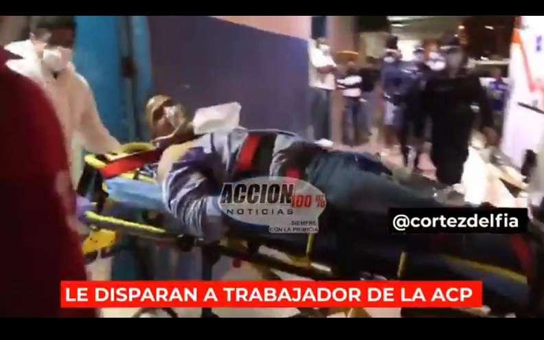 El herido se mantiene en condición estable.