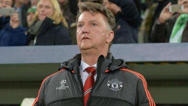 Louis van Gaal en su etapa como entrenador del Manchester United. Foto: EFE