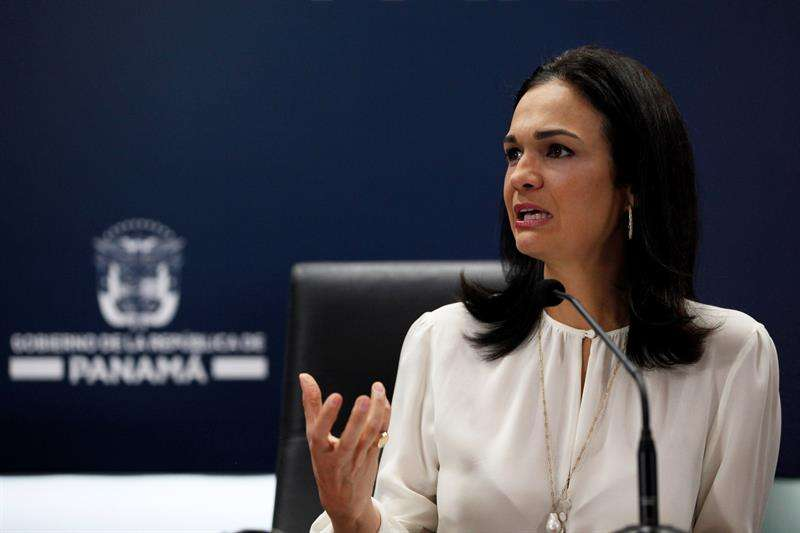 En la imagen la vicepresidenta y canciller panameña, Isabel De Saint Malo de Alvarado. Foto: EFE