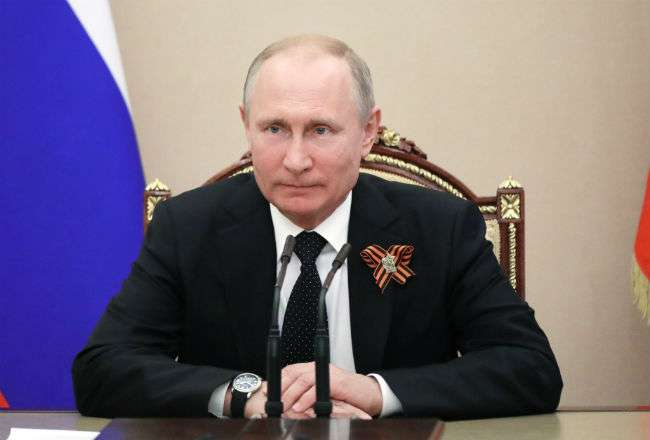 l presidente ruso, Vladimir Putin. Foto: EFE