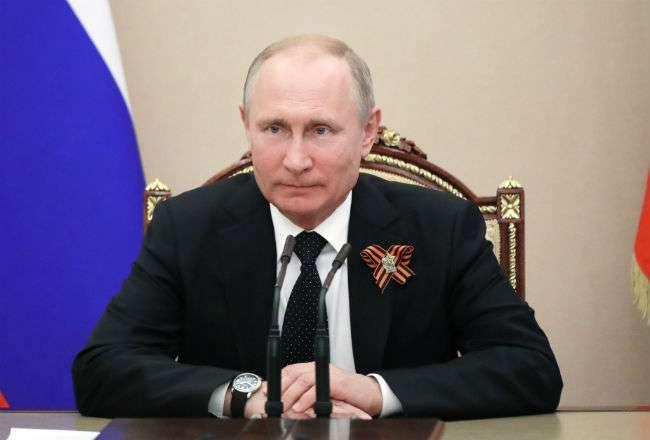 El presidente ruso, Vladímir Putin. Foto: AP