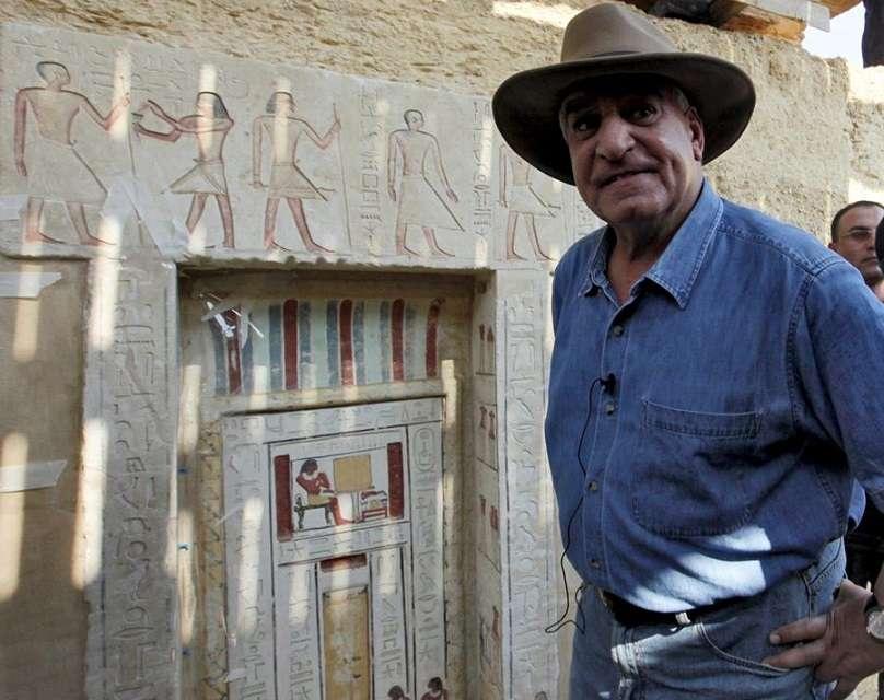 El jefe de la arqueología egipcia, Zahi Hawas. EFE