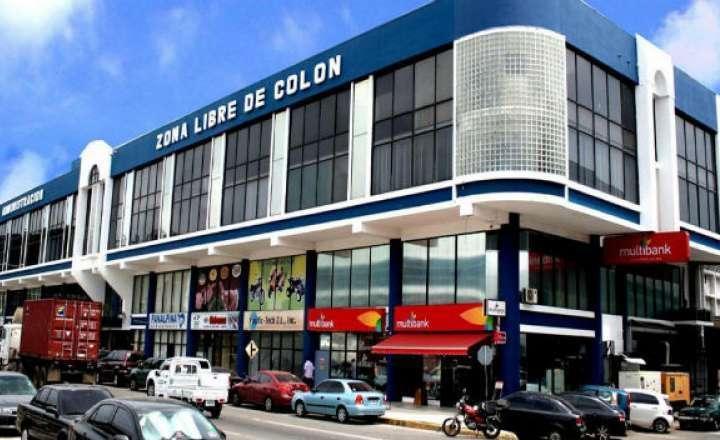 Vista general de la  Zona Libre de Colón.