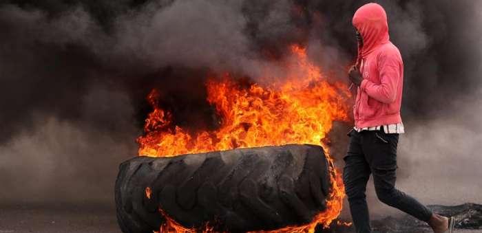 jornada de protestas haiti  efe