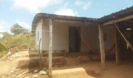En esta residencia fue donde se llevó a cabo la agresión, dentro del área de la cocina. Foto: Cortesía